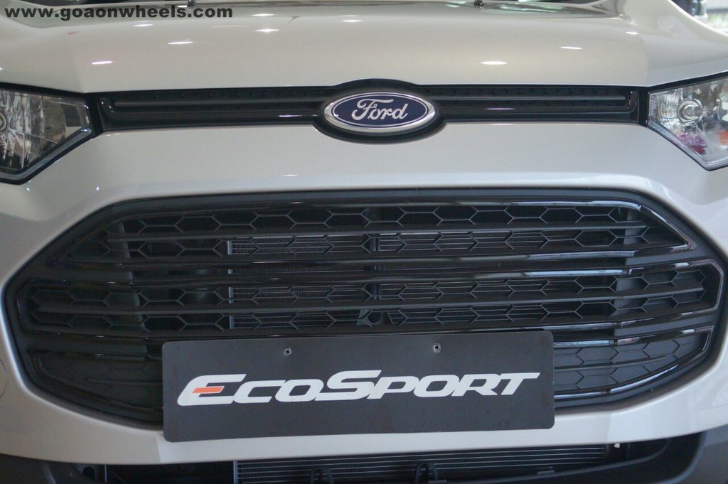 Ford Ecosport Black Edition Detailed In New Images Starts At Inr