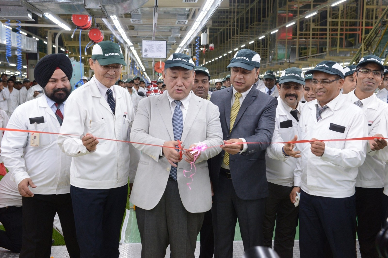 Honda 2Wheelers India inaugurates the 2nd assembly line (1)