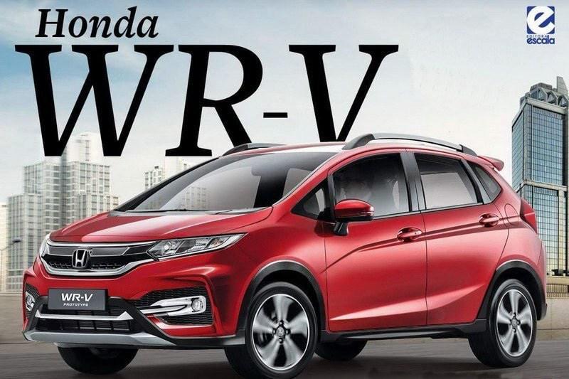 Honda WR-V render