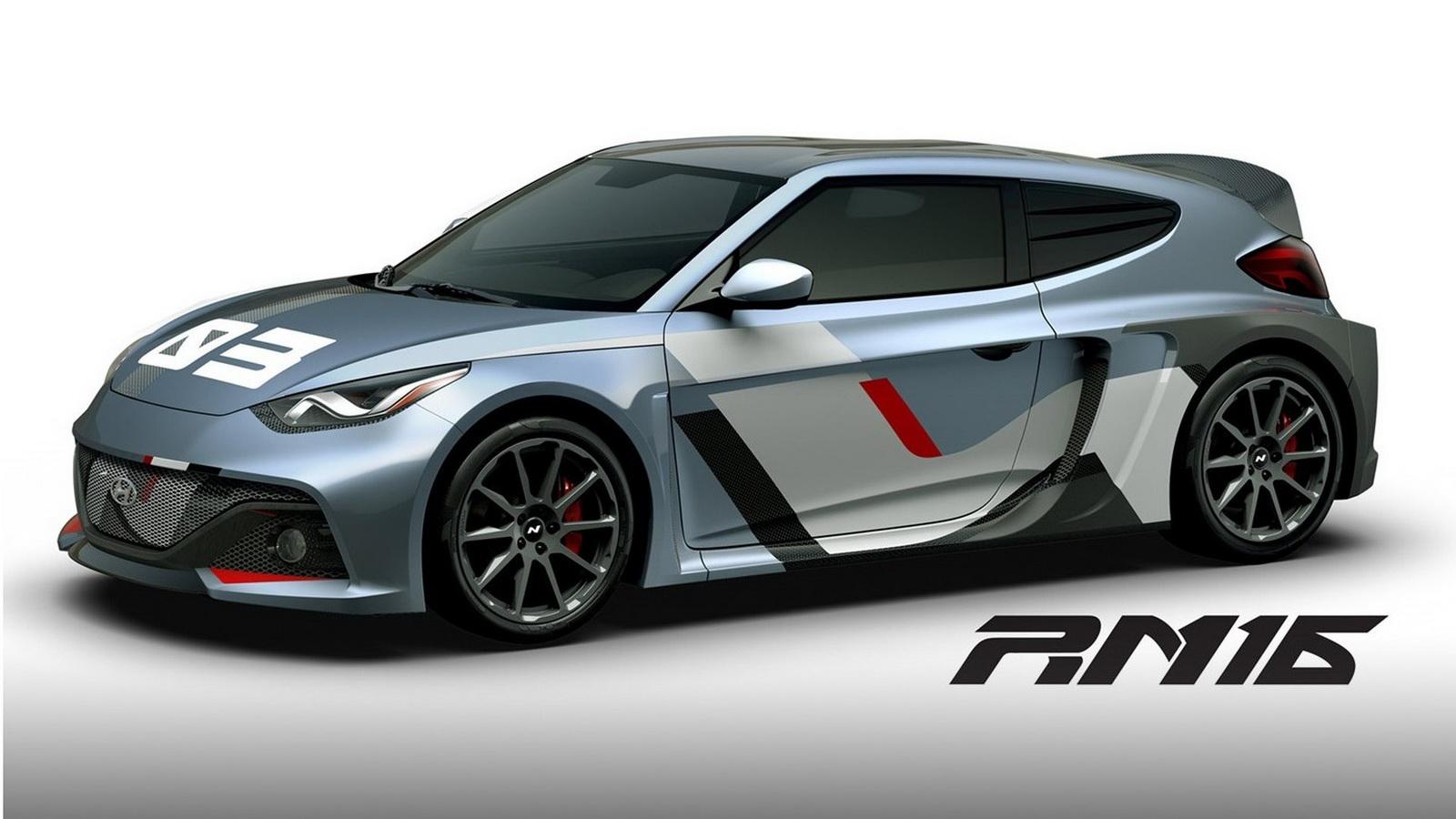 Hyundai Rm16 >> Hyundai showcases the RM16 N Concept at the 2016 Busan Motor Show | Motoroids