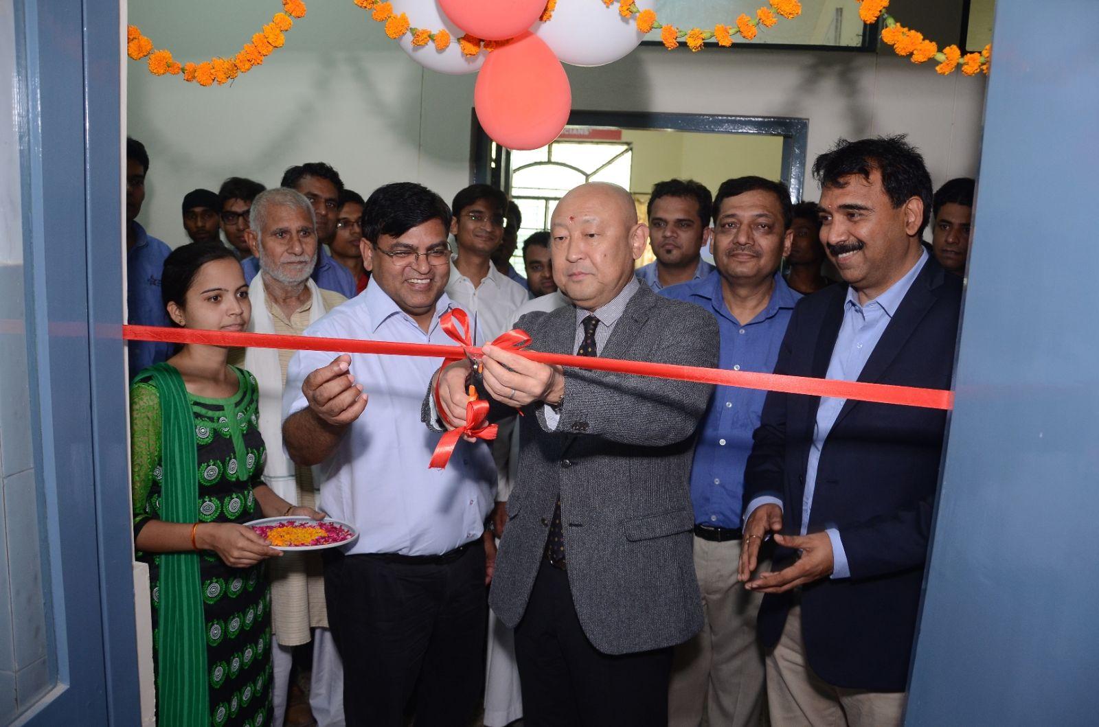 India Yamaha Motor inaugurates Yamaha Training School in Delhi