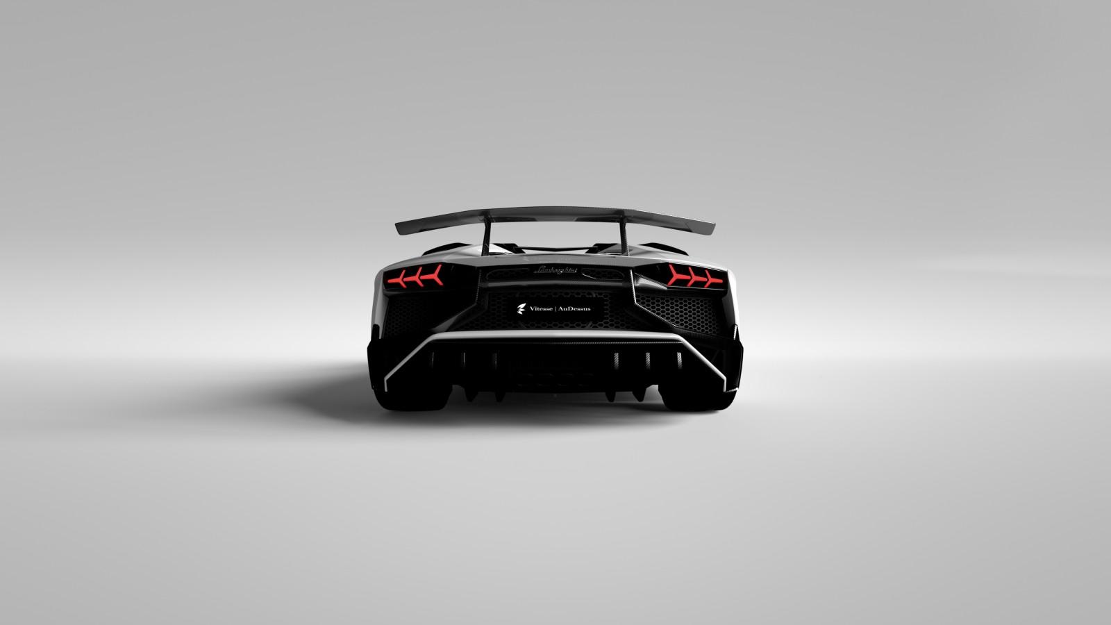 Lamborghini Aventador LP750-4 Superveloce - Vitesse Audessus (9)