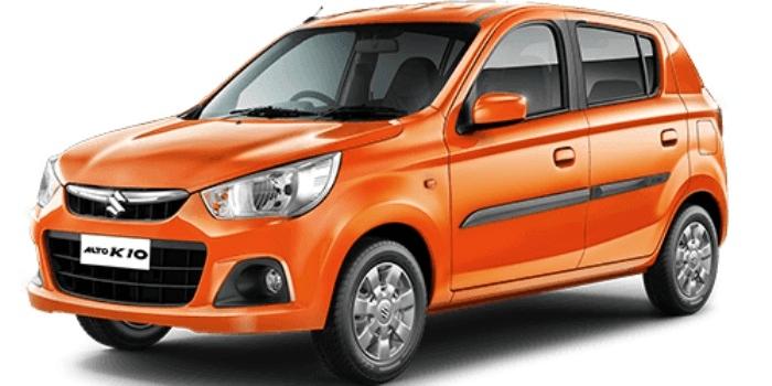 Maruti-Suzuki-Alto-K10- Orange