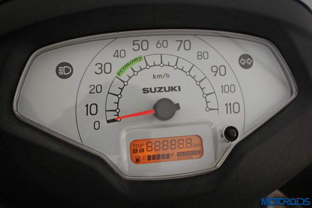 New 2016 Suzuki Access speedo (1)