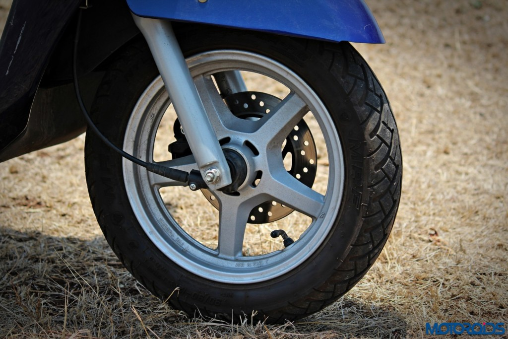 New 2016 Suzuki Access wheels