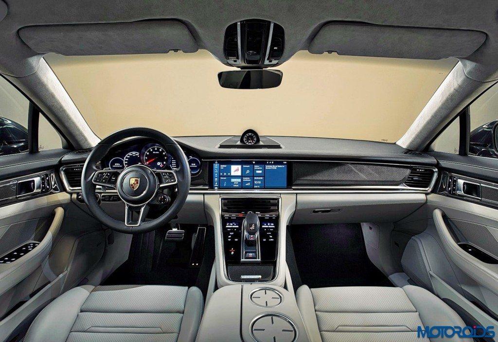 New 2017 Porsche Panamera interior (2)