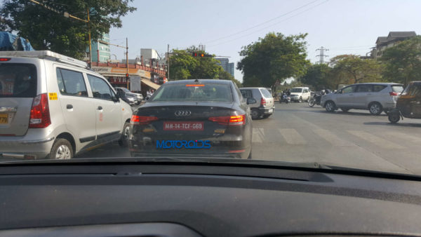 New Audi A4 spied in India (2)