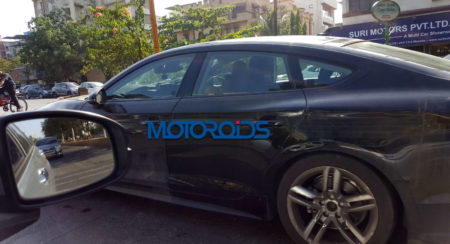 New Audi A5 Sportback spied in India