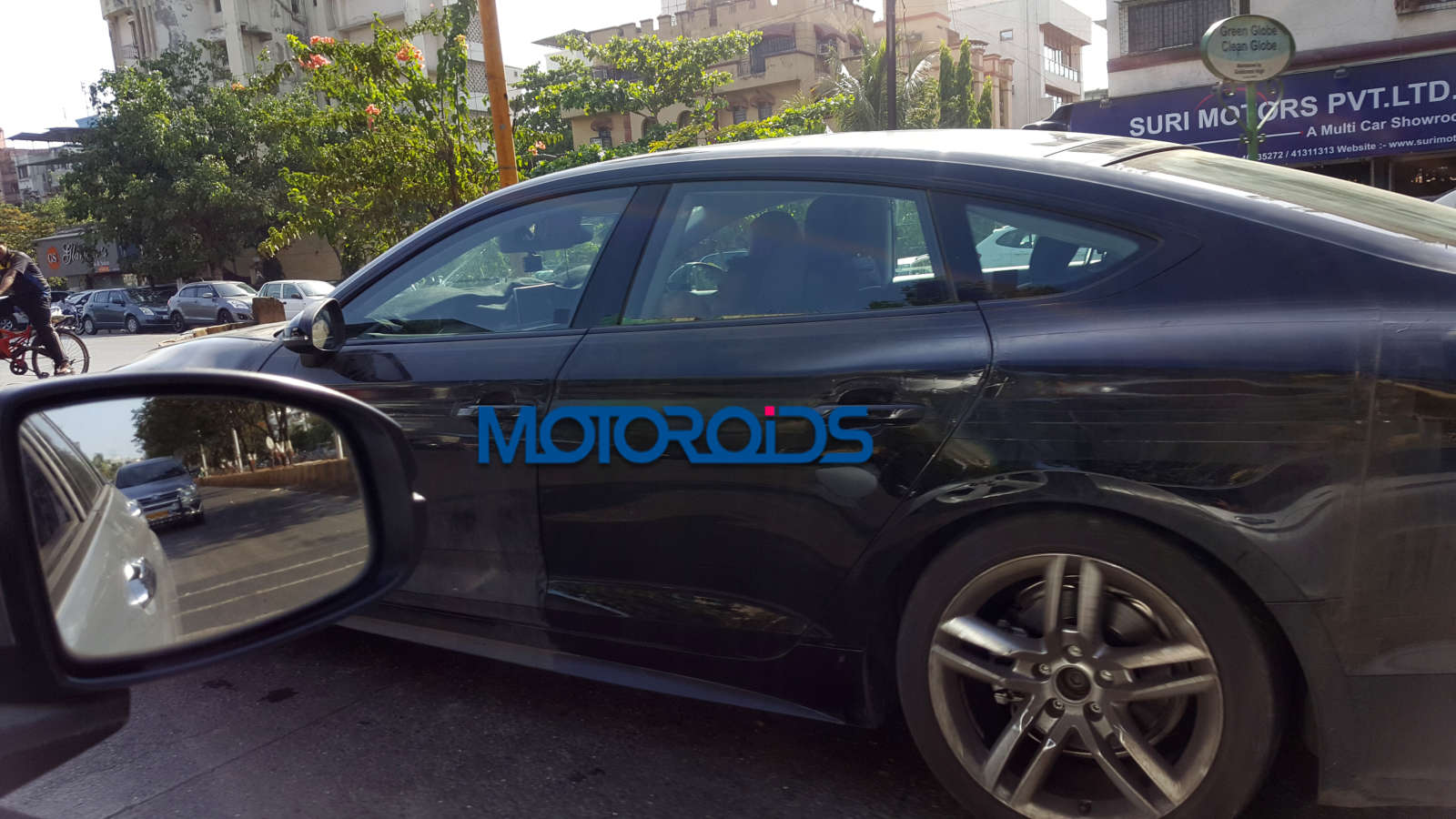 2016 Audi A5 Sportback continues testing in India before