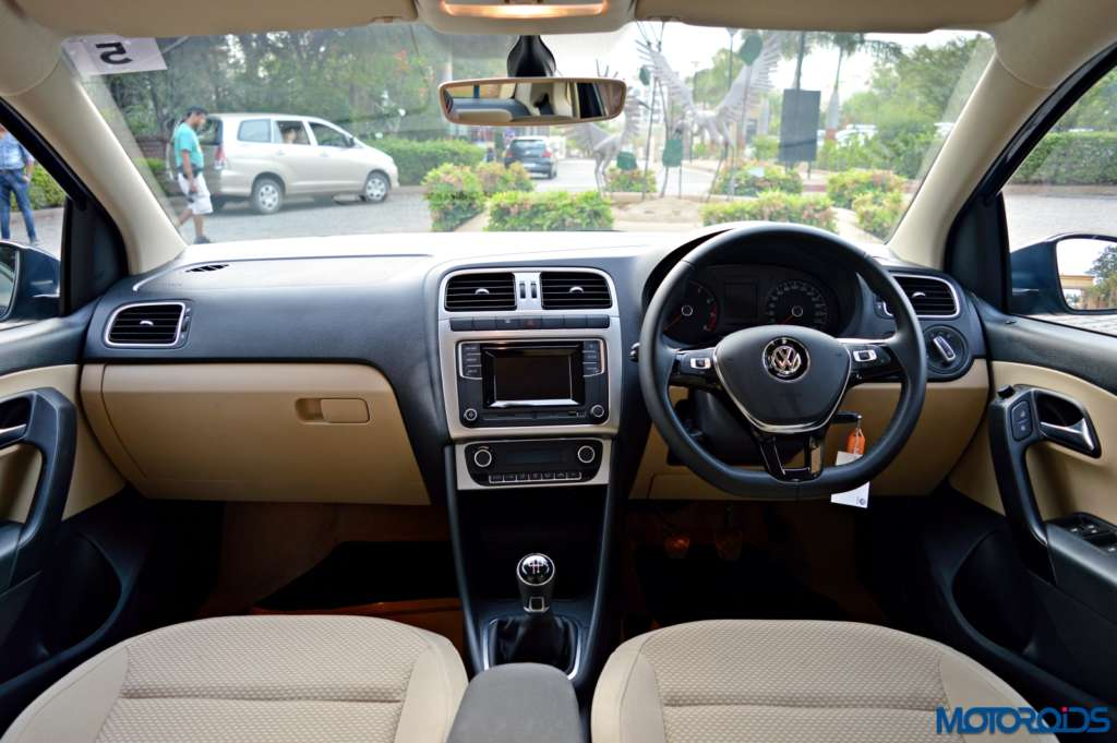 New Volkswagen Ameo Cabin(2)