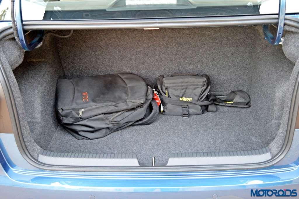 New Volkswagen Ameo boot space(40)