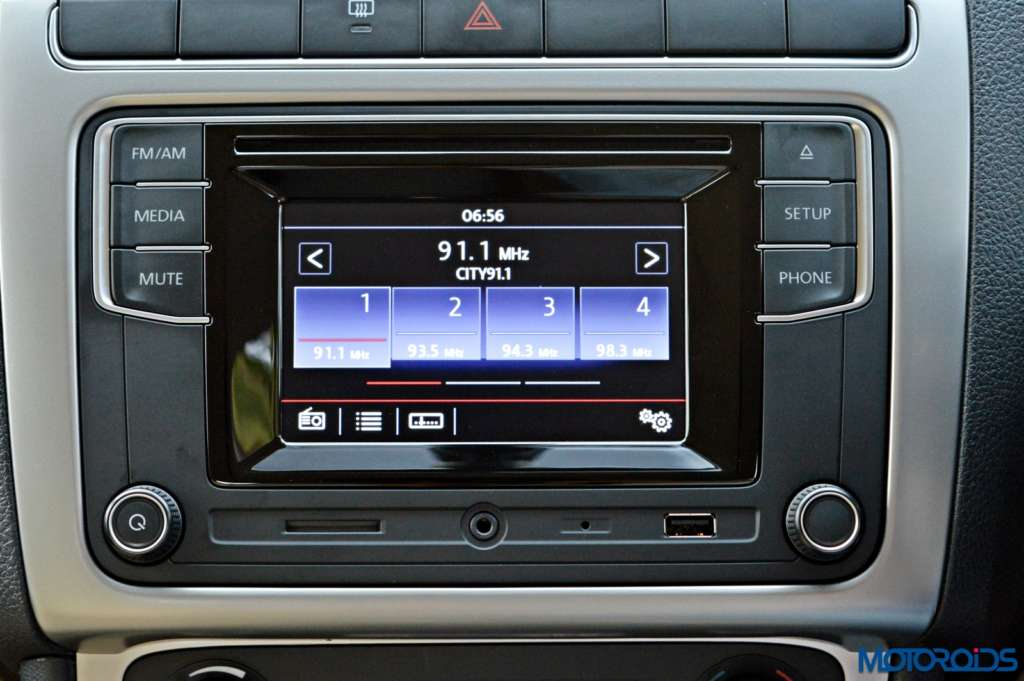 New Volkswagen Ameo infotainment system(9)