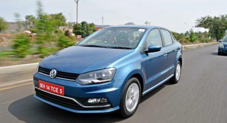 New Volkswagen Ameo motion shots(101)