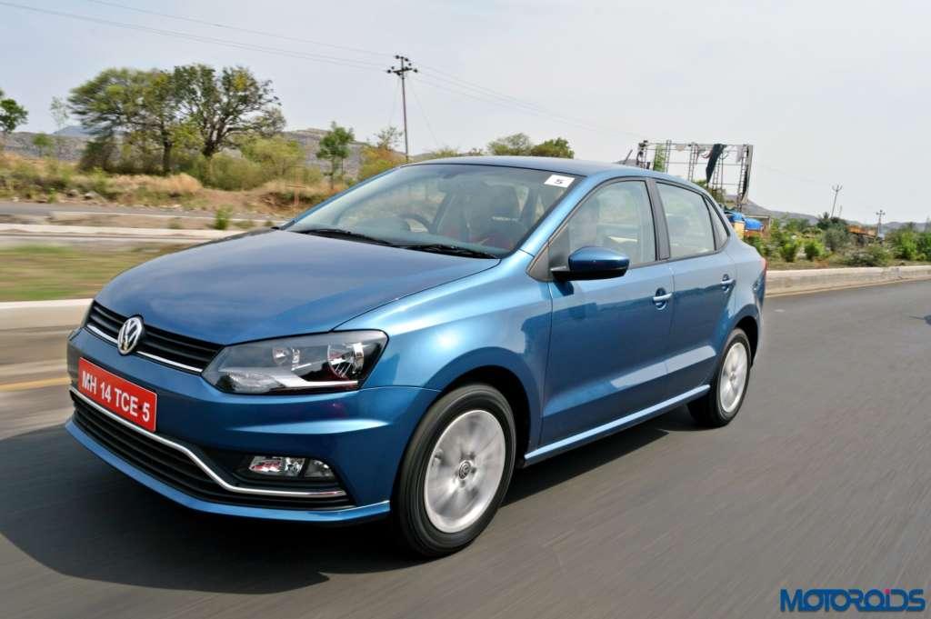 New Volkswagen Ameo motion shots(103)