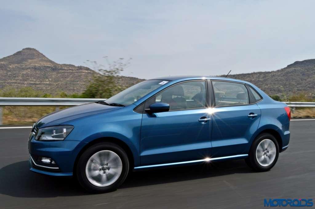 New Volkswagen Ameo motion shots(96)