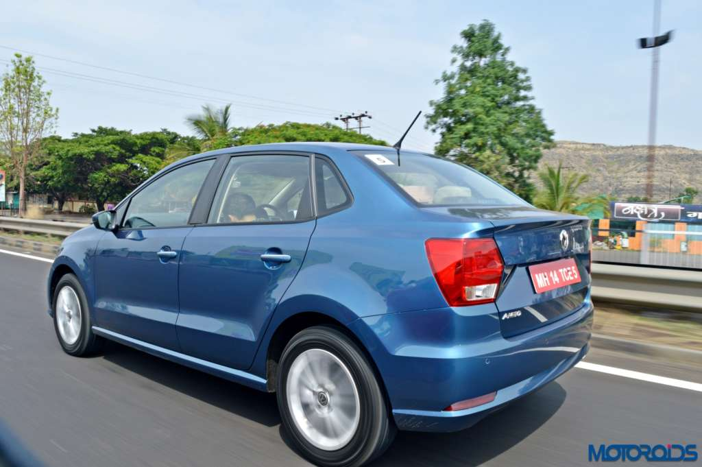 New Volkswagen Ameo motion shots(99)