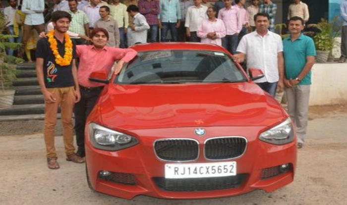 Rajasthan student gifted BMW