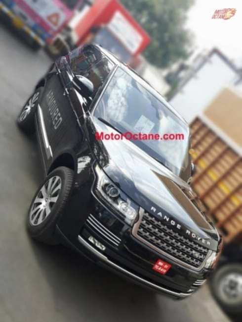 Range Rover Sentinel in India
