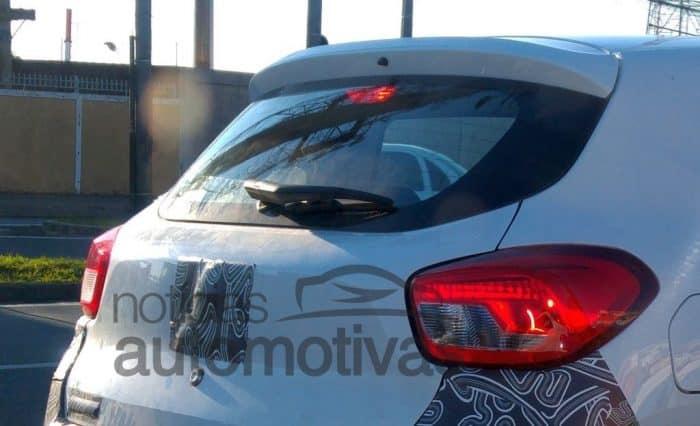 Renault Kwid spied in Brazil (1)