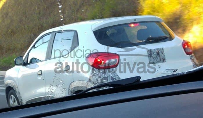 Renault Kwid spied in Brazil (2)