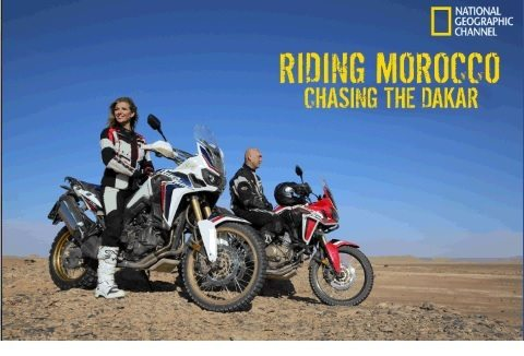 Riding Morocco - Honda Africa Twin - 1