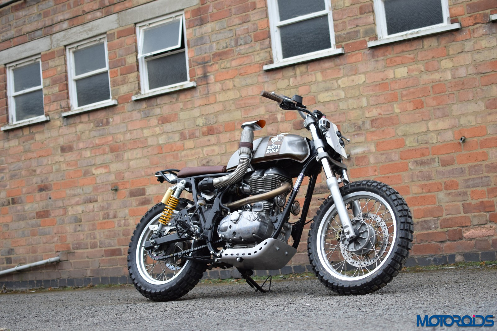 Royal Enfield Dirty Duck - WW Customs (29)