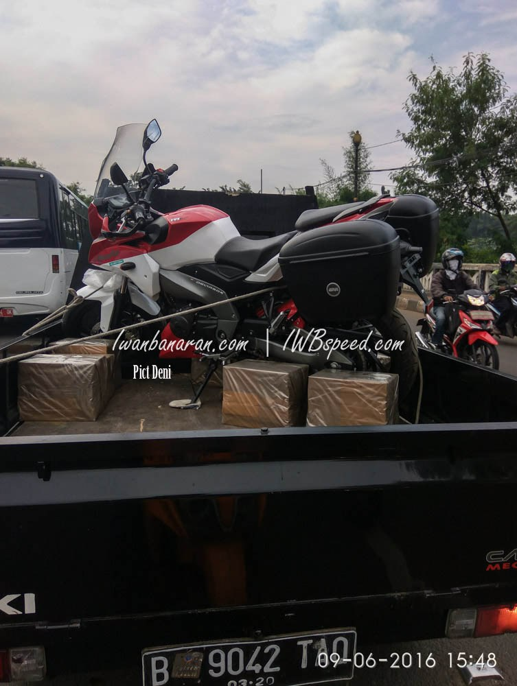 TVS Apache 200 - Adventure Tourer - 1