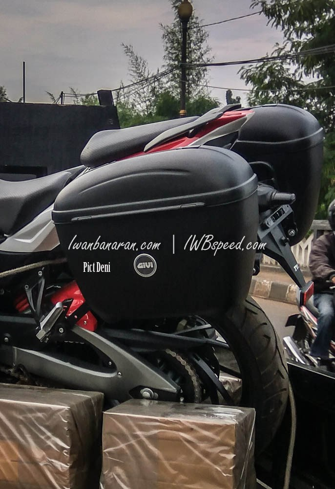 TVS Apache 200 - Adventure Tourer - 4