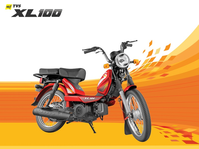 TVS XL100 - Launched in Delhi - 1