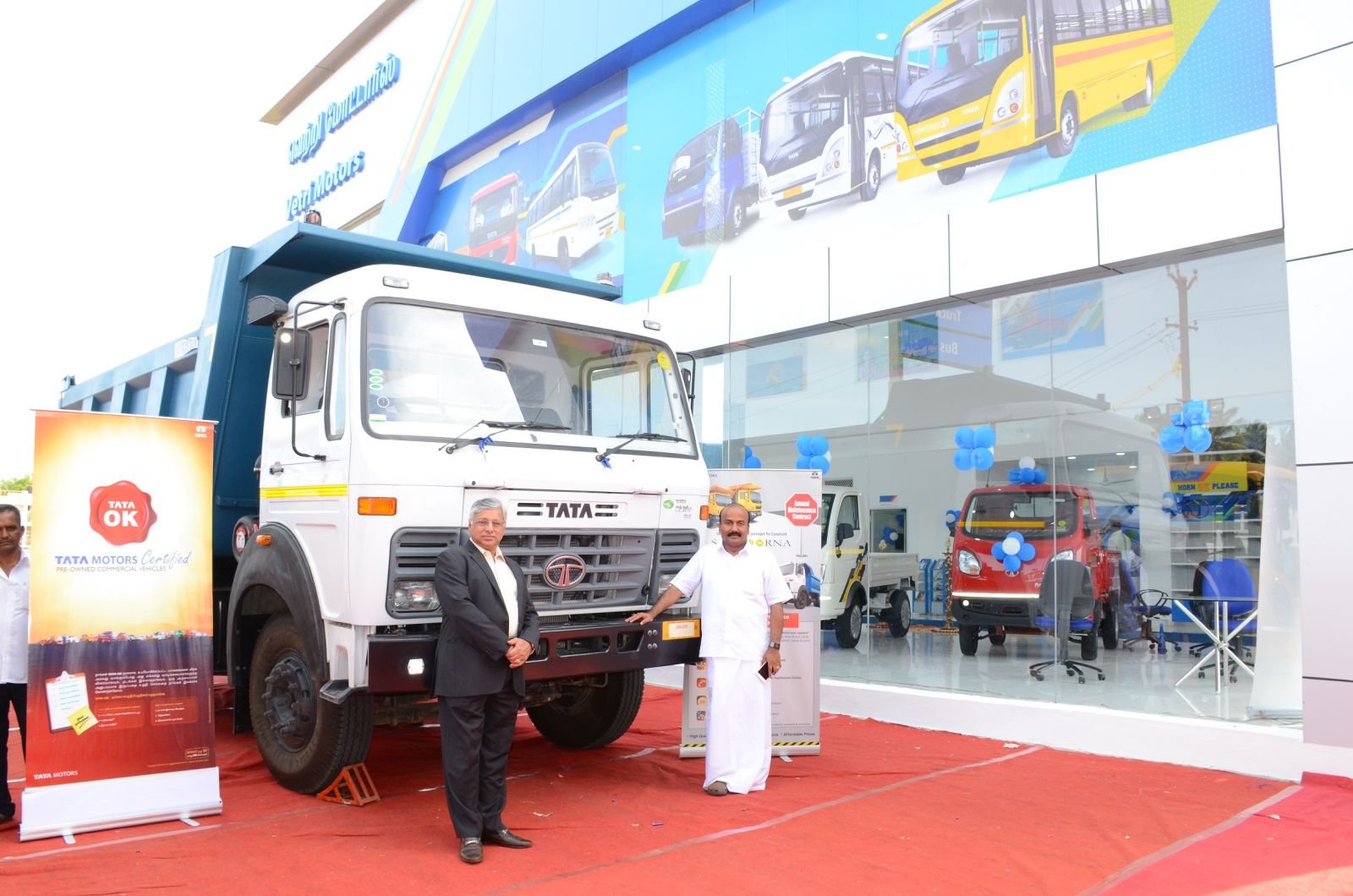 Tata Motors and Vetri Motors open new 3S commercial vehicle facility in Madurai (1)