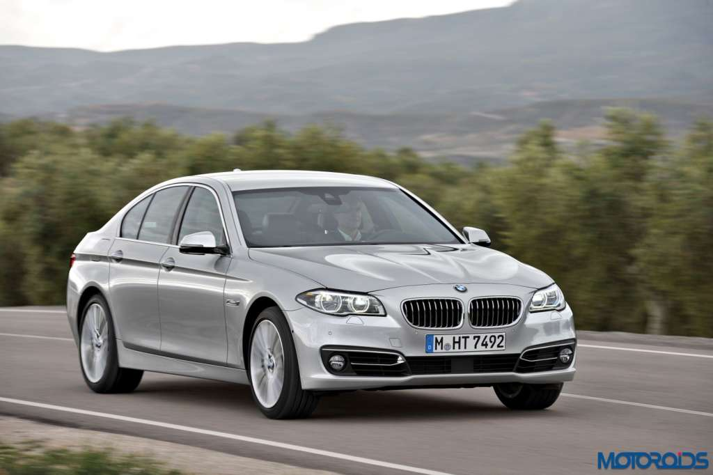 The new BMW 520i