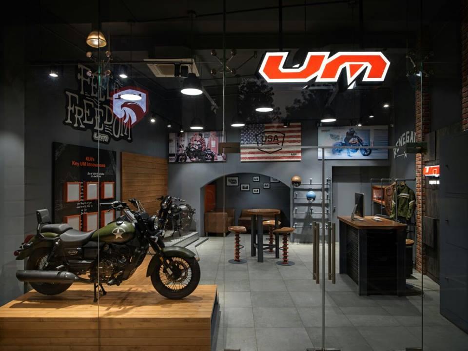 UM Connaught Place Delhi dealership (7)