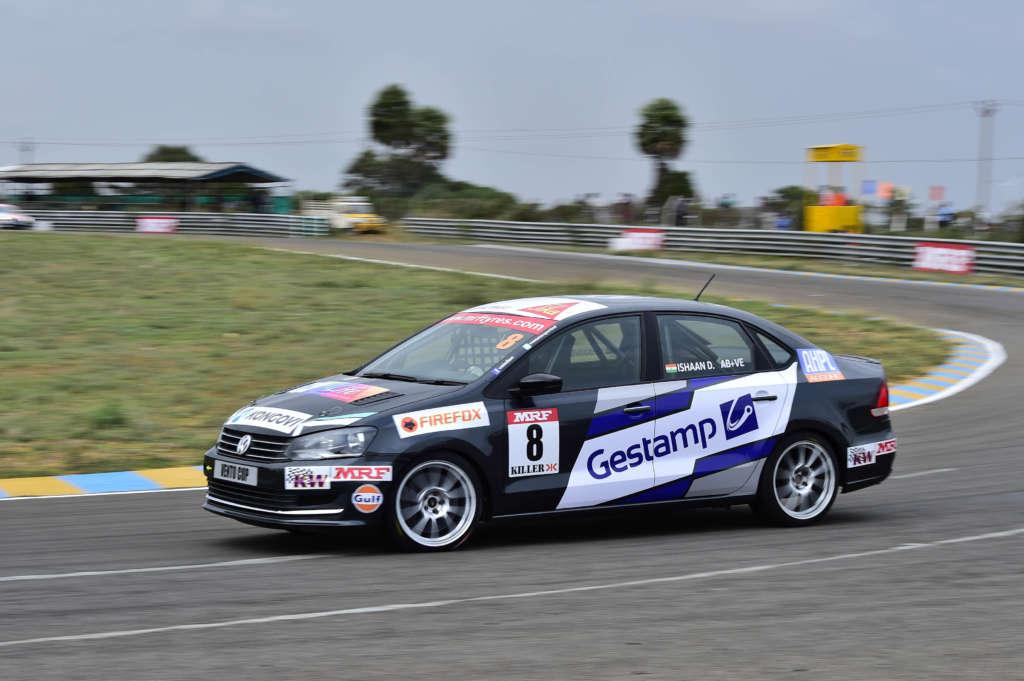 Volkswagen Vento Cup_Round1_Qualifying_Ishaan_1