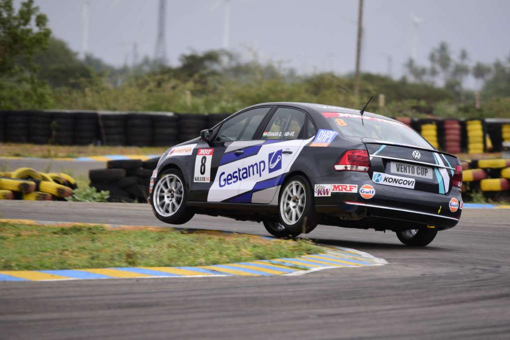 Volkswagen Vento Cup_Round1_Qualifying_Ishaan_2