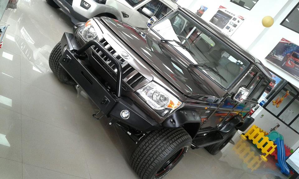 modified Mahindra Bolero (1)