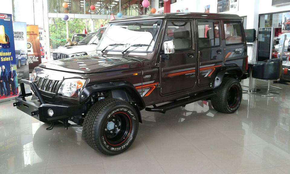Tastefully Modified Mahindra Bolero Spotted At A