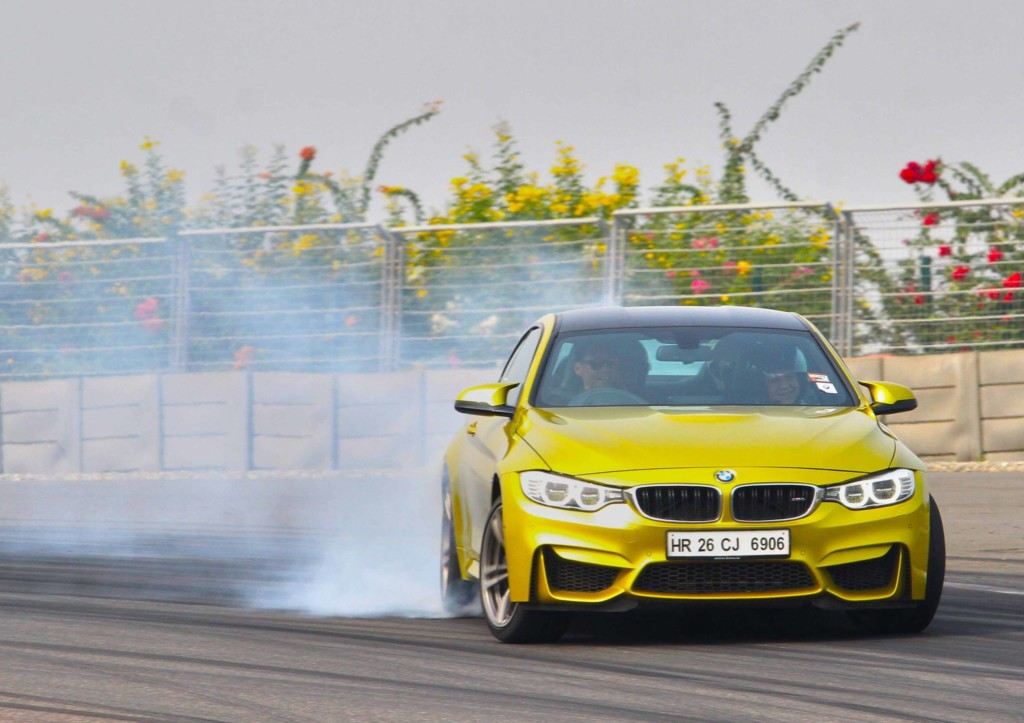 04. Adrenaline gushing experience in the BMW M4