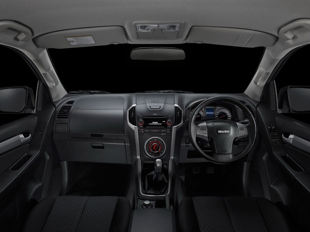 2016 Isuzu MU-X interior