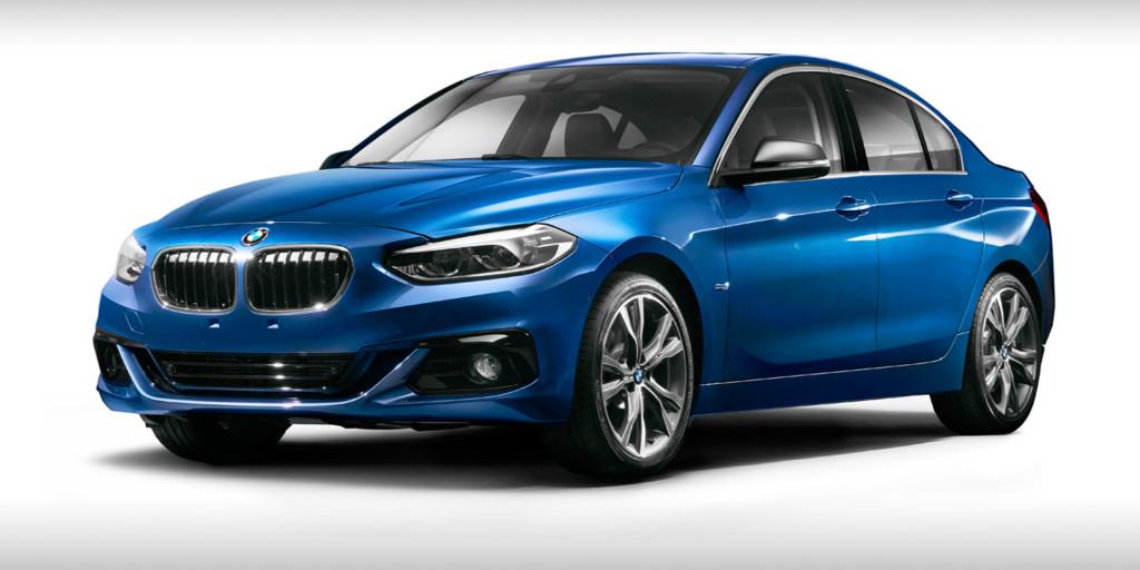 2017 BMW 1 Series Sedan