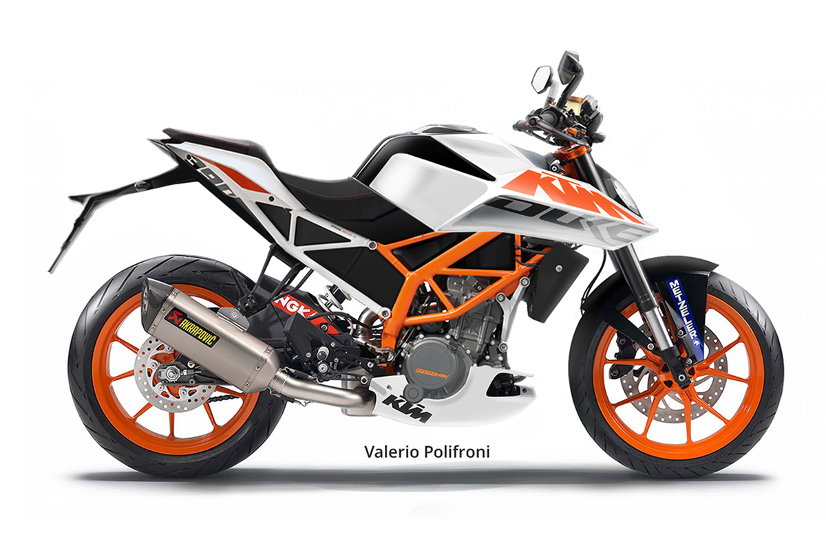 2017 ktm duke 390 rendered looks like a baby super duke motoroids. Black Bedroom Furniture Sets. Home Design Ideas