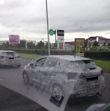 2017 Nissan Micra spied testing (3)