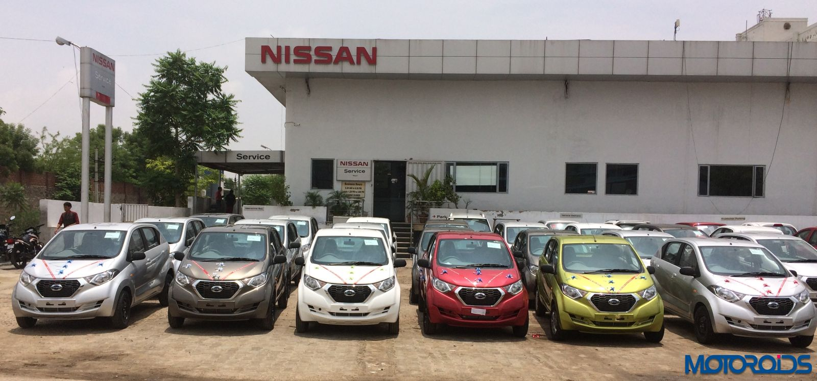 300 units of the Datsun redi-GO delivered in major cities of Rajasthan