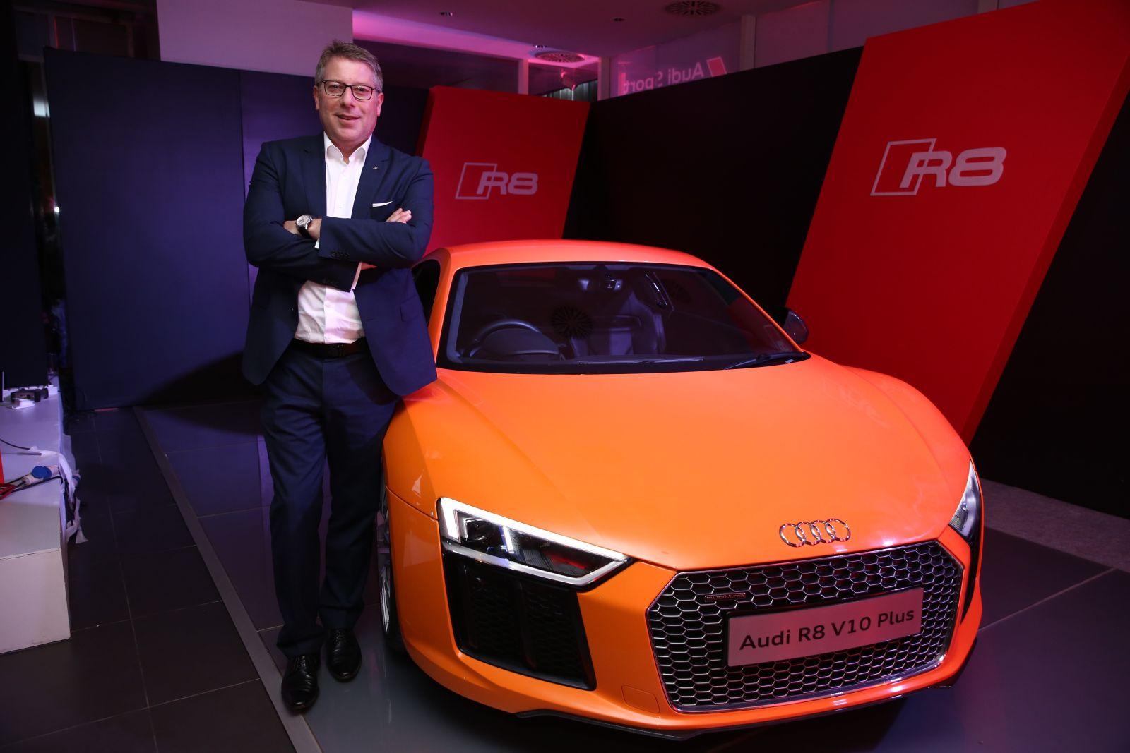 Audi Mumbai West launches the R8 V10 plus in Mumbai (1)