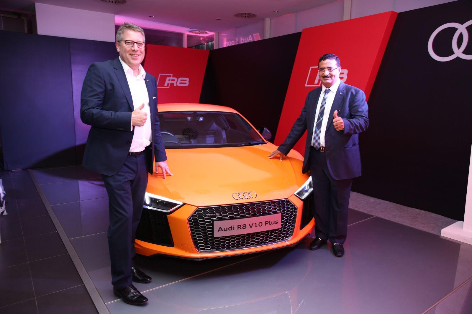 Audi Mumbai West launches the R8 V10 plus in Mumbai (2)