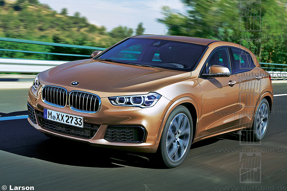Bmw X2 Rendered Coming In 2017 Motoroids