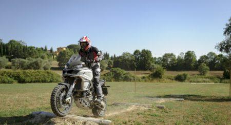 Casey Stoner rides a Multistrada 1200 Enduro (1)