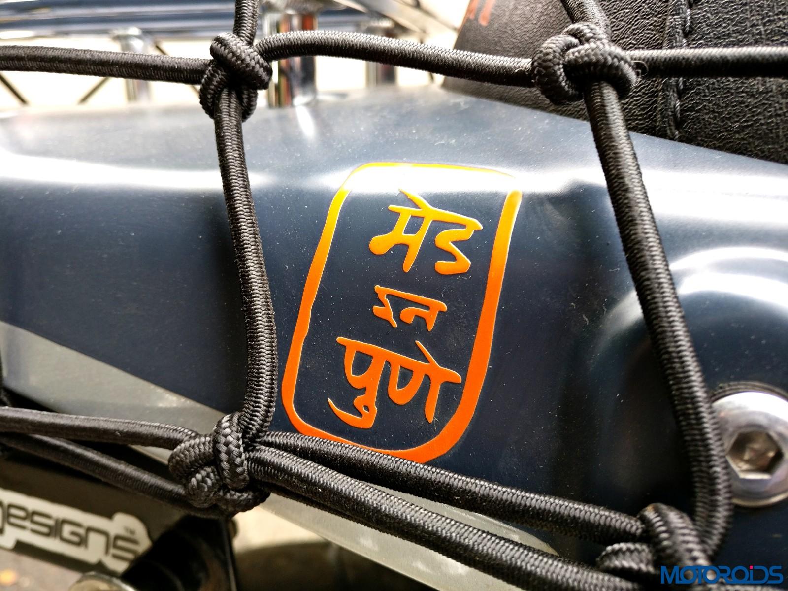 Customised Triumph Scrambler - Triumph Pune (5)