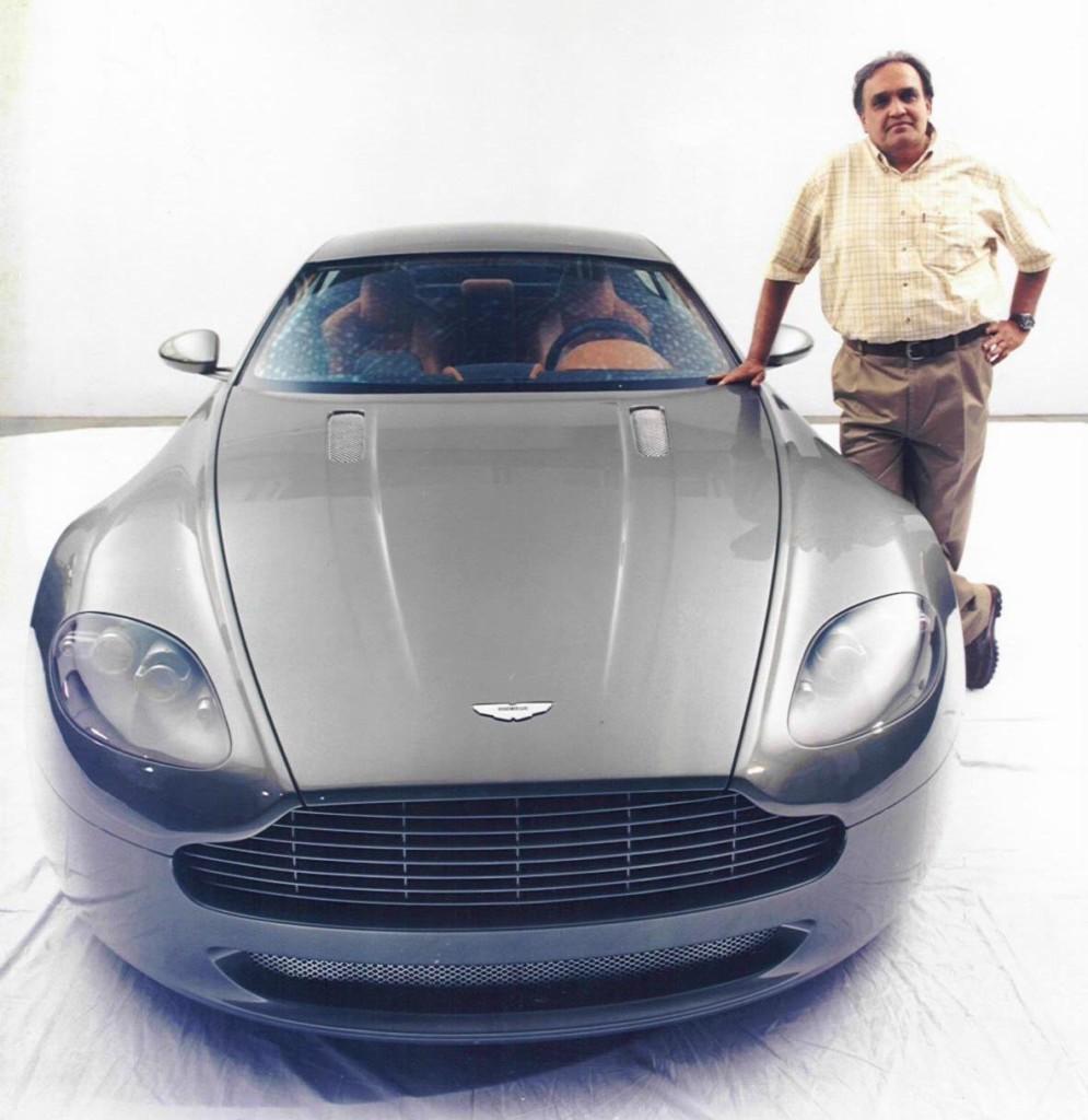 DC with Aston Martin V8 Vantage prototype