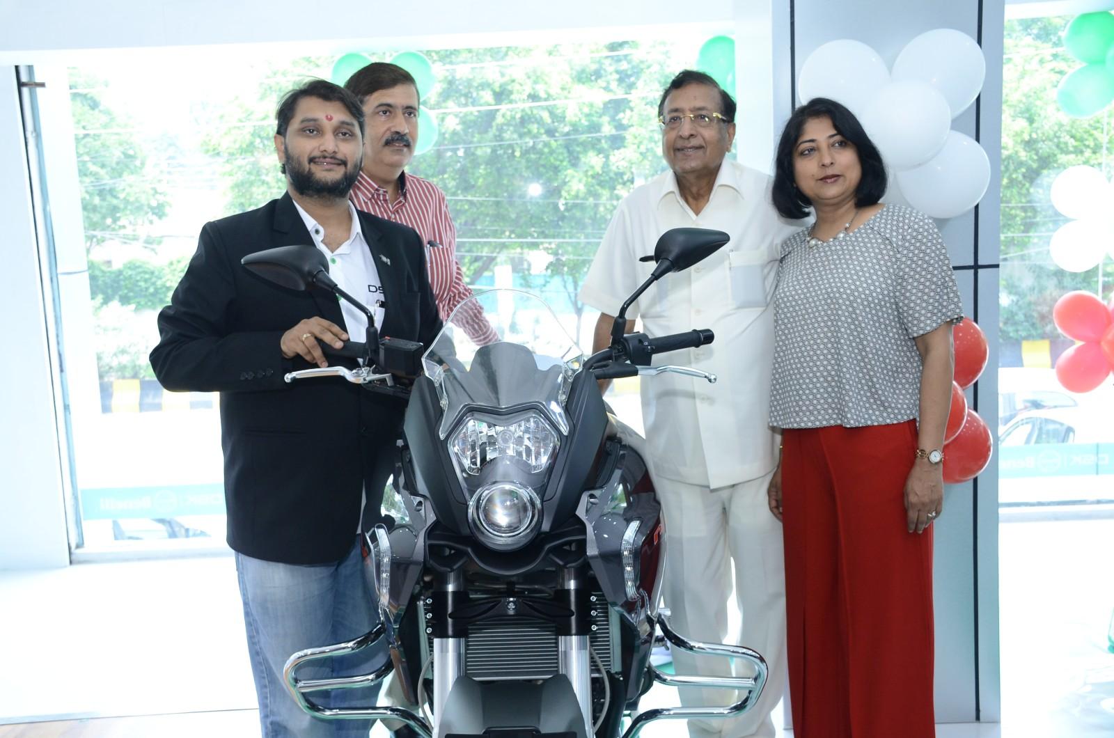 DSK Benelli inaugurates new showroom in Jalandhar - Resized