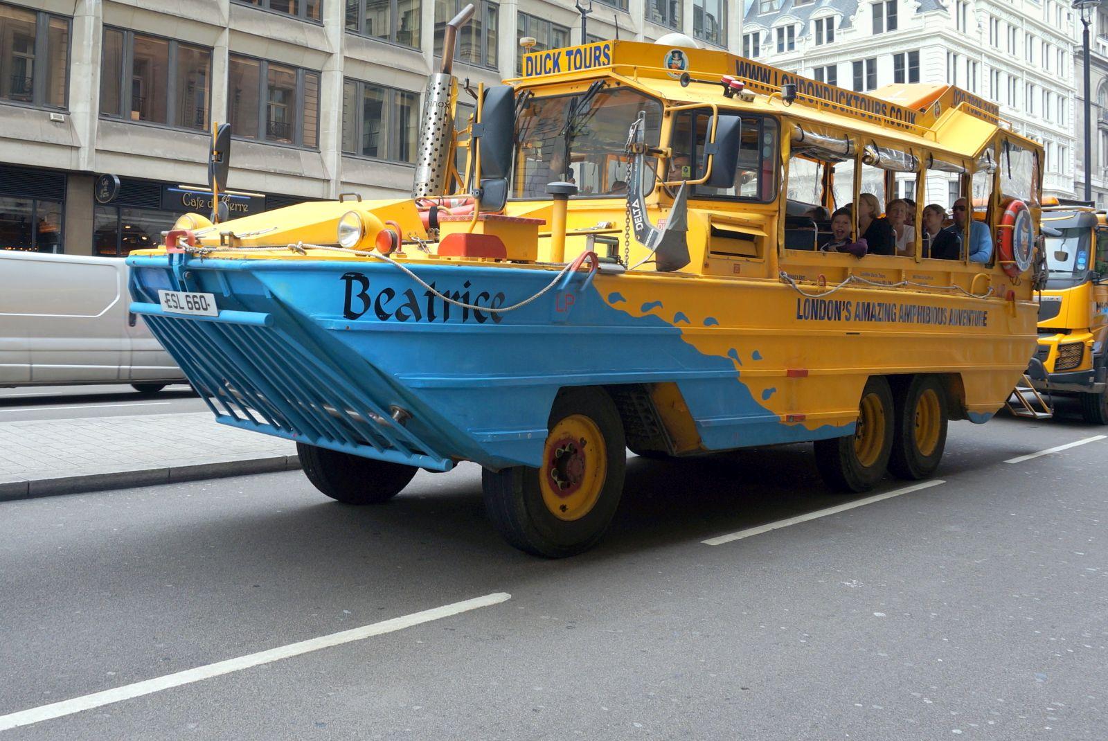 Duck - an amphibious bus